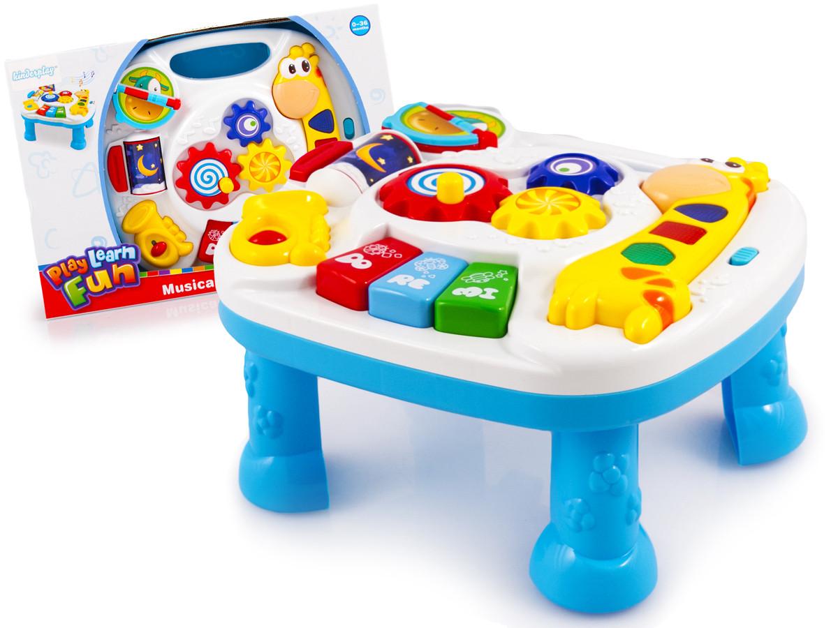 Музыкальный игровой столик Learn Fun Жираф