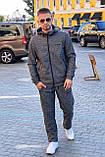 Мужской спортивный костюм  Freever графит, синий, фото 3