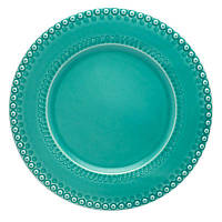 Набор подставных тарелок Португалия Bordallo Фантазия 34 см, 6 шт цвет атлантида