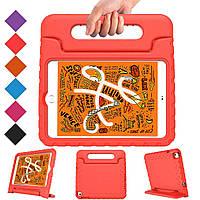Противоударный силиконовый чехол Anomaly Kids cover Hand holder для Apple iPad Mini 5 2019 / Mini 4 Красный