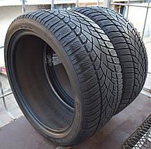 Шины б/у 245/40 R18 Dunlop SP Winter Sport 3D, ЗИМА, пара