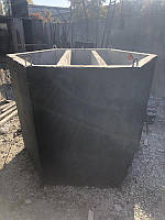 Трехкамерный септик 2000 л. из бетона