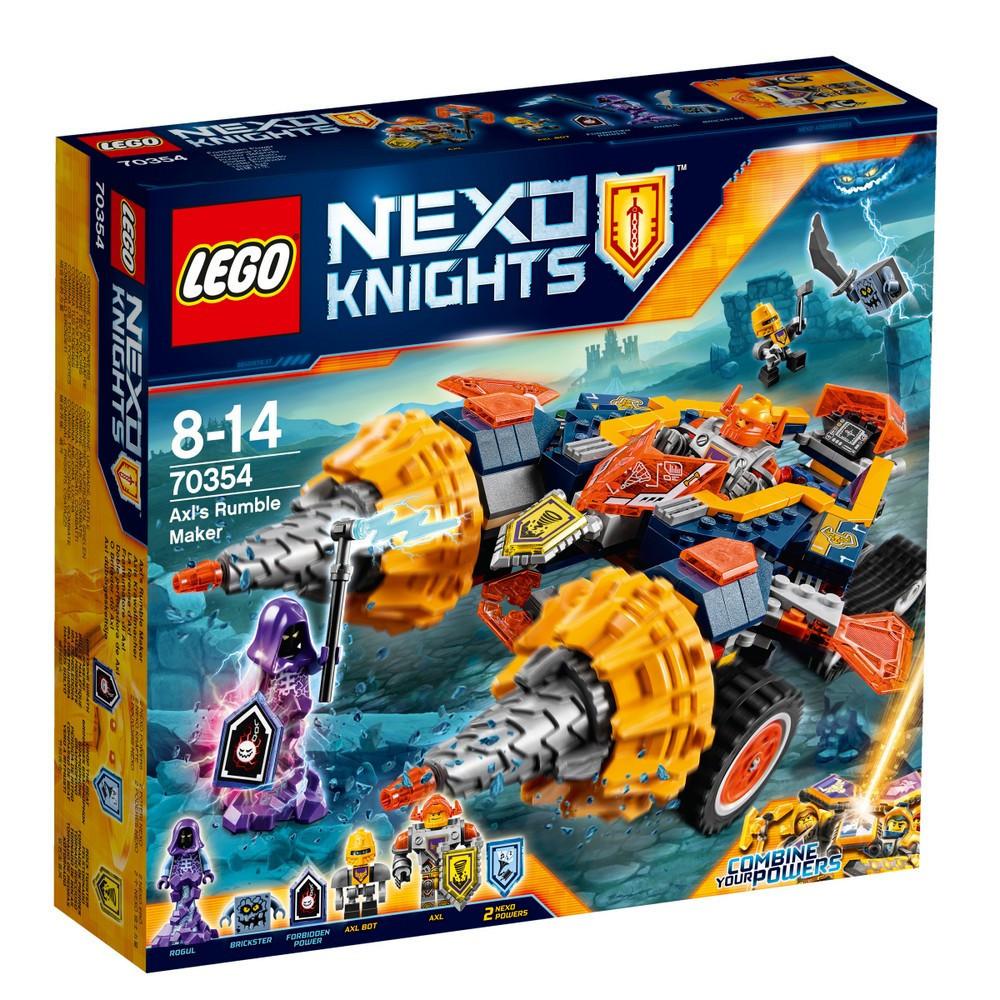 Lego Nexo Knights Бур-машина Акселя 70354Нет в наличии