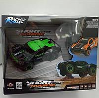 Машина на радиоуправлении гоночная, зеленая Muscle 03 Short Course