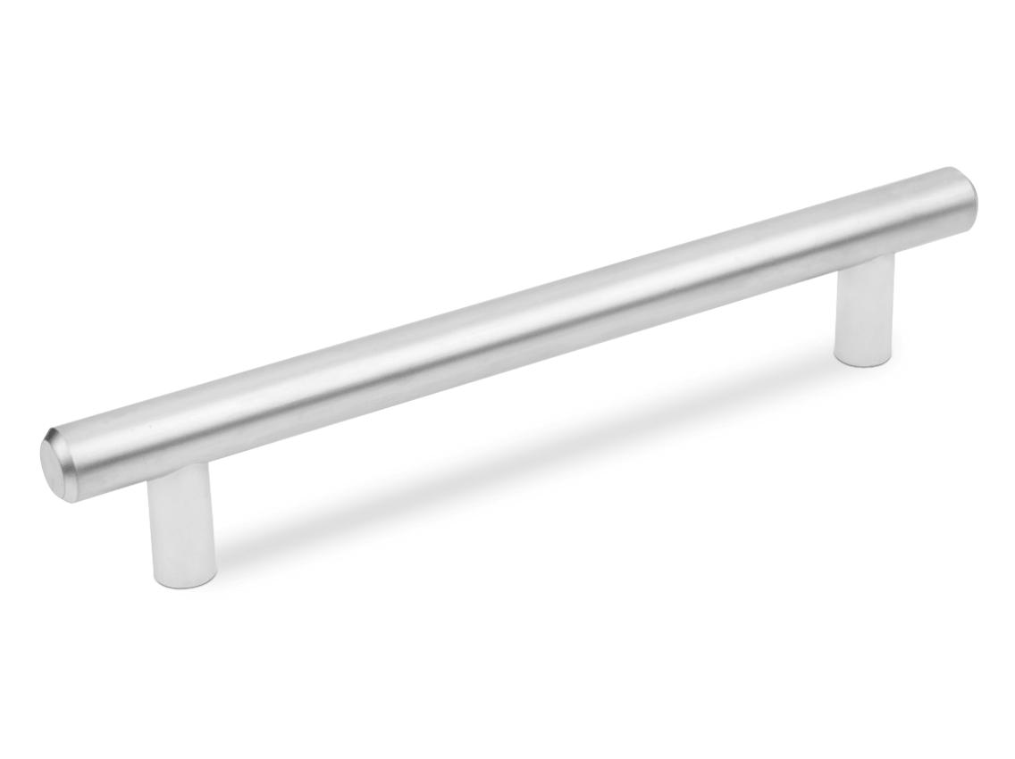 Ручка мебельная релинг ALVA 1008 матовый хром