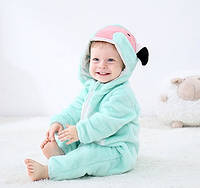 "Детская пижама кигуруми для мальчика ""Фламинго"""