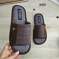 Мужские тапочки с открытым носком, отличное качество
