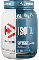 Сывороточный изолят Dymatize Nutrition - ISO100 Hydrolyzed (725 грамм) шоколад-арахисовая паста