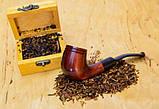 Гравировка на память другу - трубка с фильтром для курения KAF232 Bent из дерева груши, фото 6