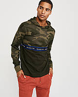 Мужская камуфляжная кофта с капюшоном Abercrombie & Fitch (Размеры - M, L), фото 1
