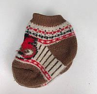 Шерстяные носки для младенцев
