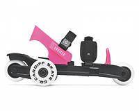 Роликовые коньки cardiff cruiser yoth lime (цвет в ассортименте) розовый