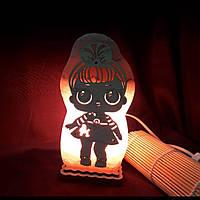 """Соляной светильник куклы """"Лолки"""""""