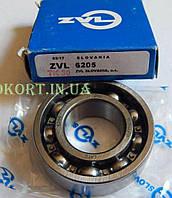 Подшипник коленвала   6205-2RS   25*52*15   (к-л Suzuki AD100, Yamaha AEROX, BWS 100, GR.AXIS, ИЖ)   ZVL   (Словакия)   (#VCH)