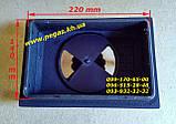Дверки чугунные с огнеупорным стеклом + поддувальная зольная (комплект), фото 3