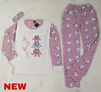 """Женская пижама на флисе SNC """"homewear"""""""
