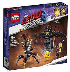 Lego Movie 2 Боевой Бэтмен и Железная борода 70836
