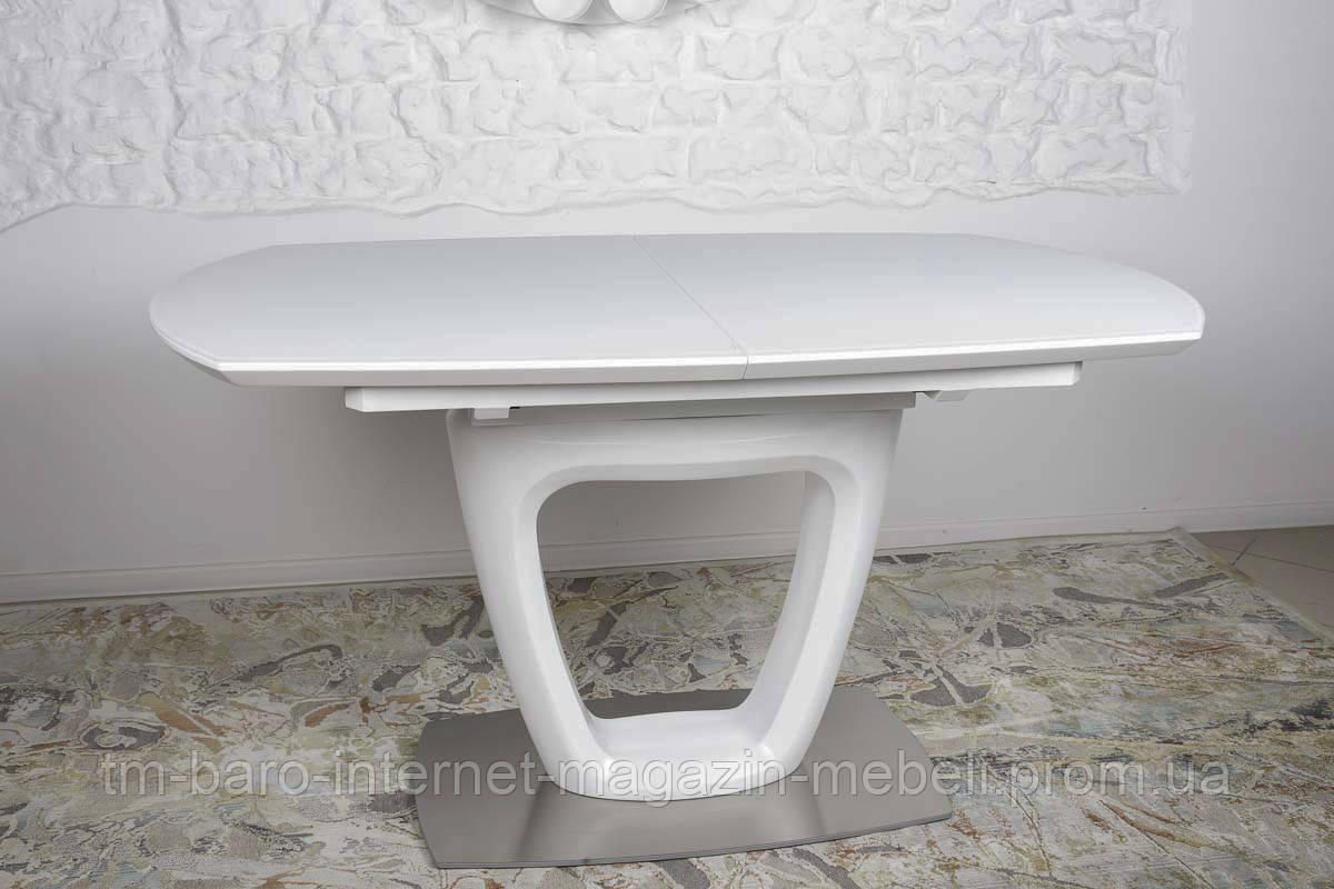 Стол Ottawa (Оттава), белый керамика (Бесплатная доставка), Nicolas