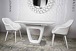 Стол Ottawa (Оттава), белый керамика (Бесплатная доставка), Nicolas, фото 8