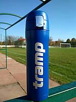 Термокружка Tramp 0,45 л синій TRC-107--blue. Кружка термос 450 мл.