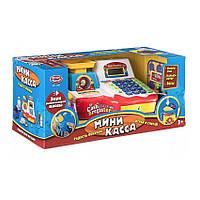 Детский кассовый аппарат Мини касса (калькулятор, микрофон, весы) Play Smart 7162