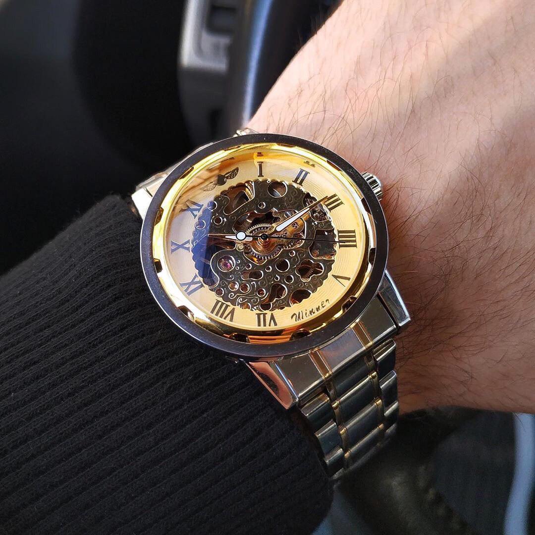 Механические Часы Skeleton Winner