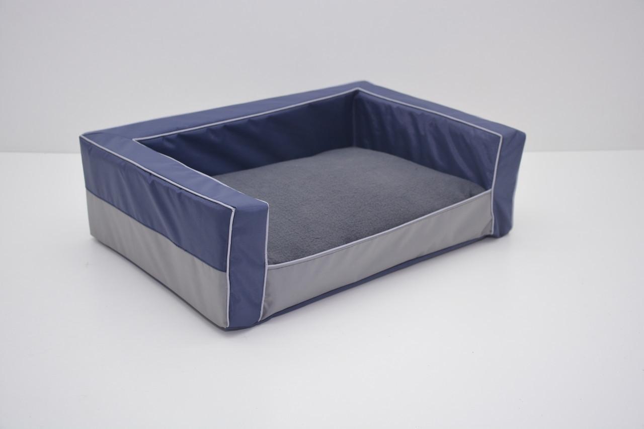 Диван для собак Гармония №6 800х1200х250 синий