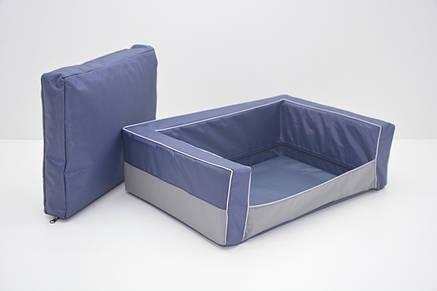 Диван для собак Гармония №6 800х1200х250 синий, фото 2