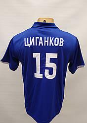 Футбольная форма детская Динамо Киев Цыганков в стиле New Balance синяя