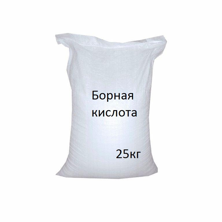 "Борная кислота 25 кг  ""ОВИ"""