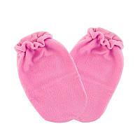 Варежки для парафинотерапии Jerden Proff флисовые, розовые, пара