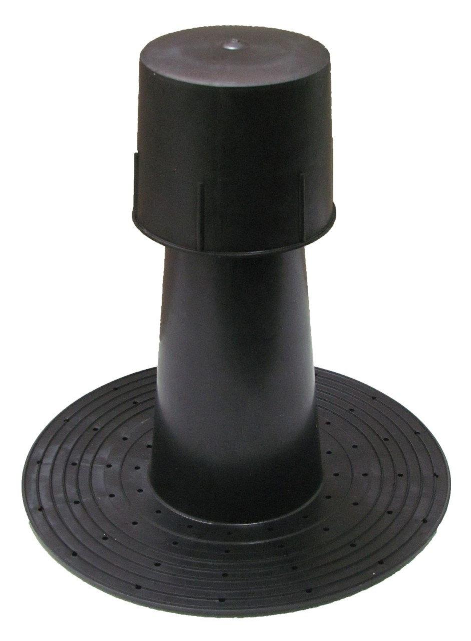 Флюгарка ф110, Н300 мм аэратор битумной кровли из рубероида