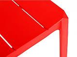 Стул ADONIC полипропилен красный (бесплатная доставка), фото 7