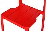 Стул ADONIC полипропилен красный (бесплатная доставка), фото 9