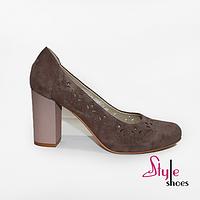 Туфли женские с орнаментом