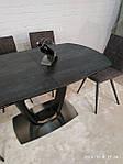 Стол Ottawa (Оттава), керамика коричневый графит (Бесплатная доставка), Nicolas, фото 5
