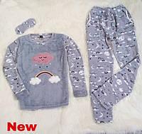 """Женская пижама на флисе """"SNC homewear"""""""