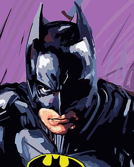 Картина по номерам Бэтмен, 40x50 см., Brushme