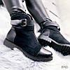 Ботинки женские Helena зимние черные эко -кожа+ эко - замша ))В НАЛИЧИИ ТОЛЬКО 41р, фото 5