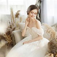 Роскошное свадебное платье расшитое. Колекция 2020. Весільна сукня пишна колекція 2019 - 2020.
