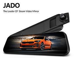 Потоковое зеркало видеорегистратор Jado A650 с камерой заднего вида