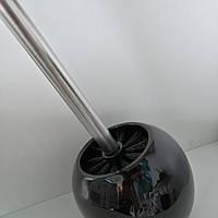 Керамічний йоршик для унітазу чорний