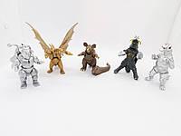 Фигурки героев мультфильма Годзилла 14 штук (Собери сам), фото 1