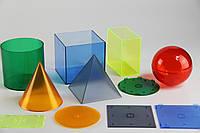 Геометричні тіла з кришками (пластик)
