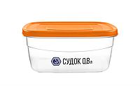 Судок 0,8 л помаранчевий (арт. 90о)