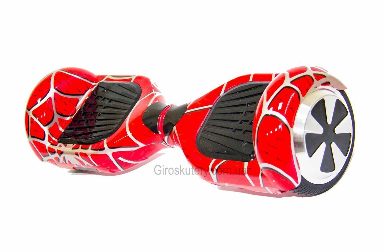 Гироборд Smart Balance 6,5 дюймов Гироскутер Цвет - Спайдермэн полная комплектация