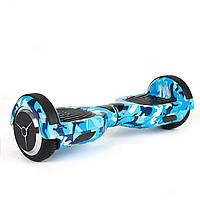Гироскутер 6.5 Smart Balance голубой хаки bluetooth музыка подсветка гироборд сегвеи