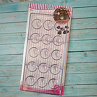Поликарбонатная форма для шоколадных конфет полусфери из 15