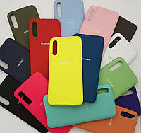 Чехол накладка Silicone case для  Samsung A30s