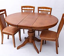 Стол обеденный WT48 цвет нук (орех) Exm, Малайзия, фото 3